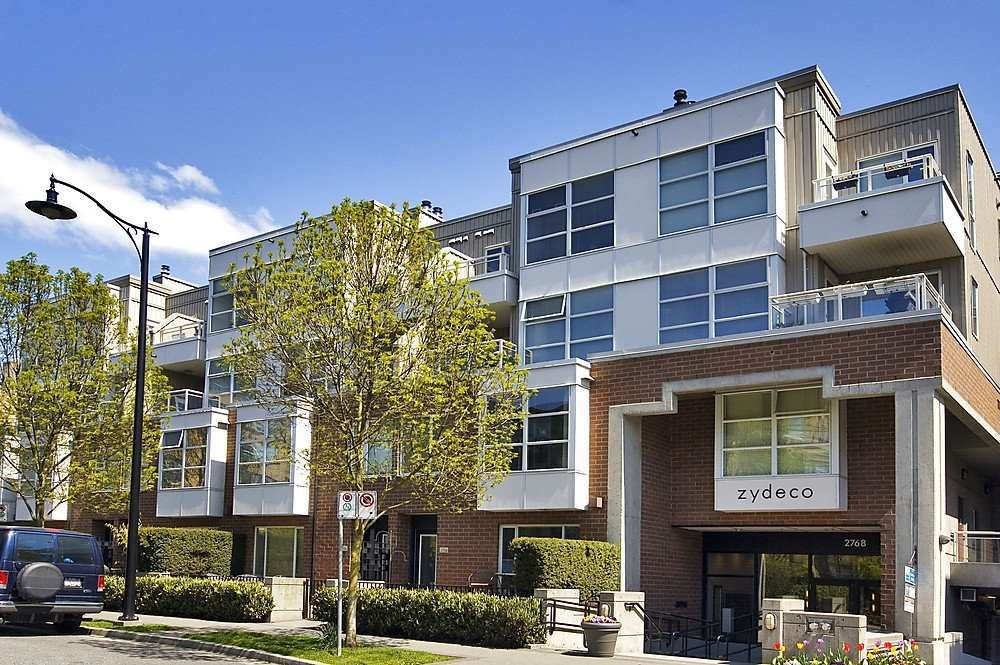 Main Photo: 207 2768 CRANBERRY DRIVE in Vancouver: Kitsilano Condo for sale (Vancouver West)  : MLS®# R2435190