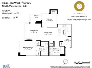 Photo 25: 1201 170 W 1ST STREET in North Vancouver: Lower Lonsdale Condo for sale : MLS®# R2603325
