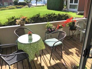 """Photo 2: 109 1230 QUAYSIDE Drive in New Westminster: Quay Condo for sale in """"Tiffany Shores"""" : MLS®# R2406017"""