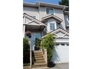 "Photo 1: # 3 12188 HARRIS RD in Pitt Meadows: Central Meadows Townhouse for sale in ""WATERFORD PLACE"" : MLS®# V965726"