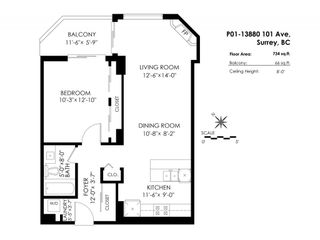 """Photo 18: P01 13880 101 Avenue in Surrey: Whalley Condo for sale in """"ODYSSEY TOWERS"""" (North Surrey)  : MLS®# R2195711"""