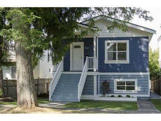 Photo 1: 347 34TH Ave E in Vancouver East: Main Home for sale ()  : MLS®# V981814