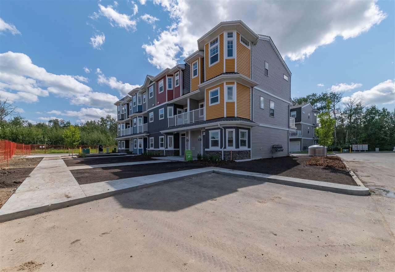 Main Photo: 26 150 Everitt Drive: St. Albert Townhouse for sale : MLS®# E4238252