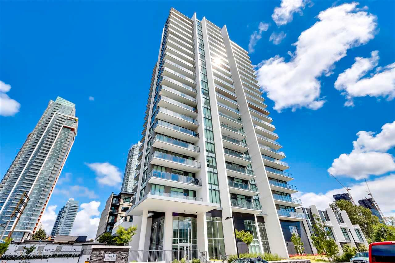 """Main Photo: 1407 4465 JUNEAU Street in Burnaby: Brentwood Park Condo for sale in """"JUNEAU"""" (Burnaby North)  : MLS®# R2591502"""
