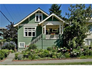 Photo 1: 1332 WOODLAND DR in Vancouver: Grandview VE House for sale (Vancouver East)  : MLS®# V1072084
