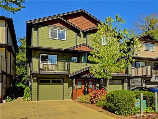 Main Photo: 3358 Radiant Way in VICTORIA: La Happy Valley Half Duplex for sale (Langford)  : MLS®# 739421