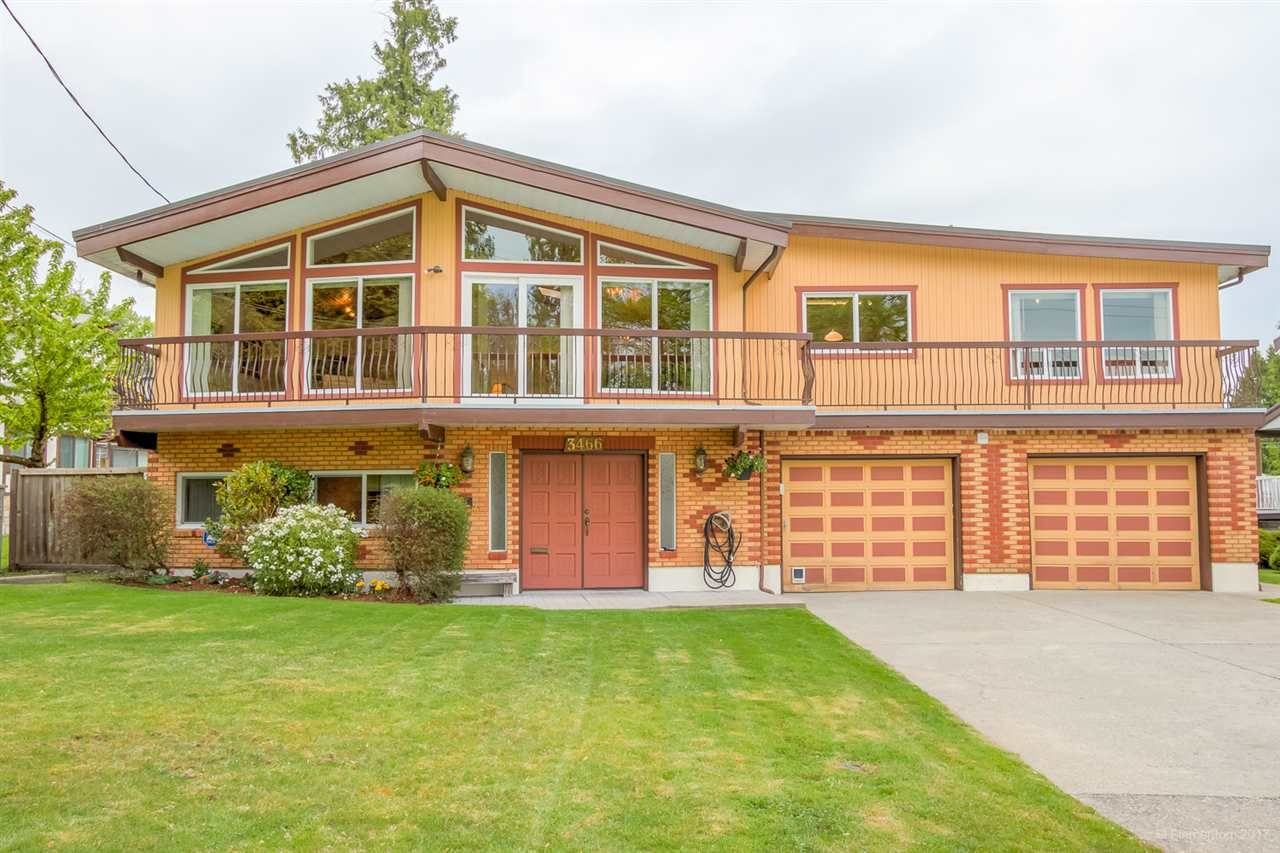 """Main Photo: 3466 PIPER Avenue in Burnaby: Government Road House for sale in """"GOVERNMENT ROAD"""" (Burnaby North)  : MLS®# R2166561"""