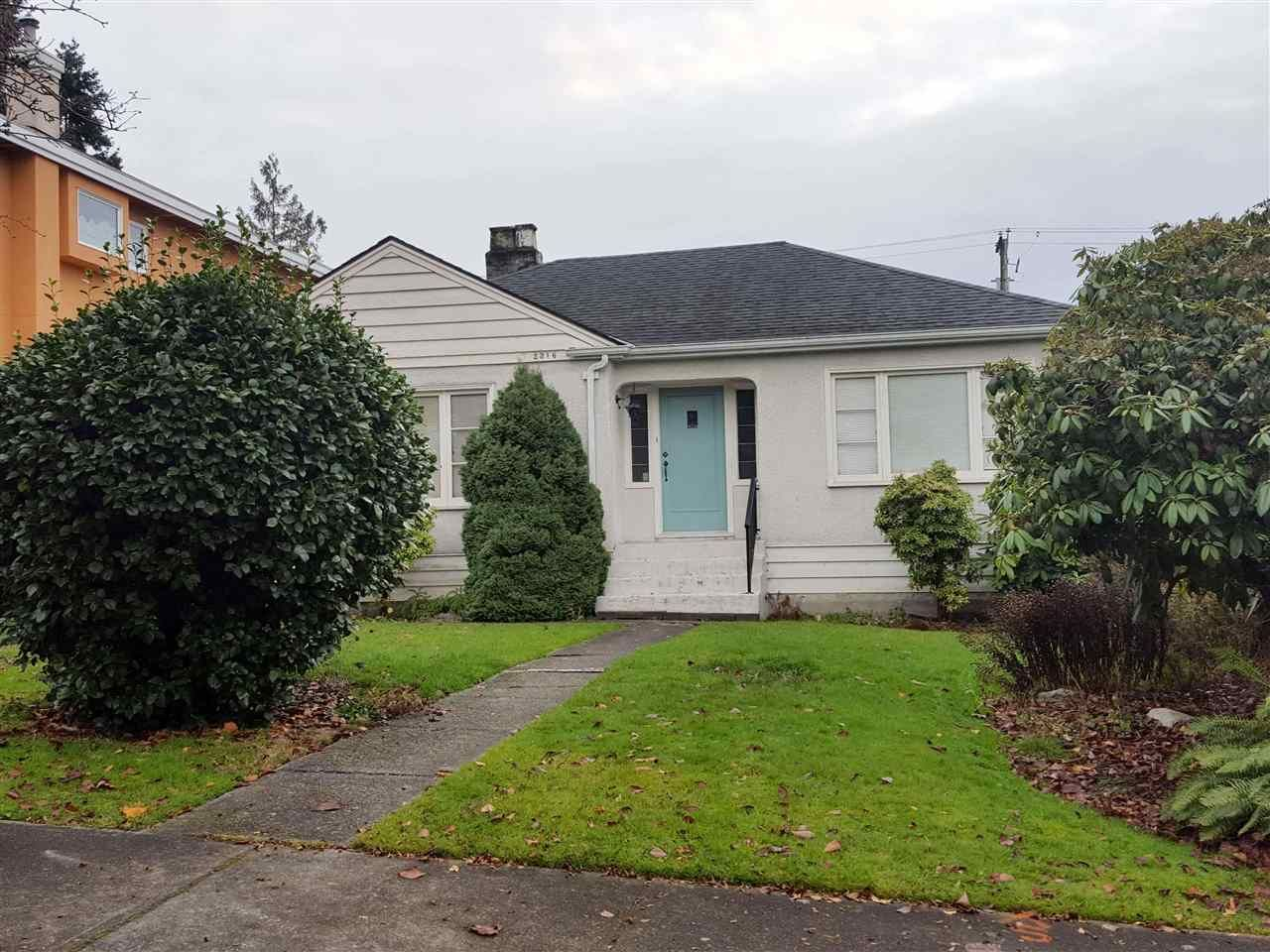 Photo 1: Photos: 2316 W 21ST Avenue in Vancouver: Arbutus House for sale (Vancouver West)  : MLS®# R2225210
