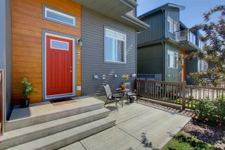 Photo 18: 7503 GETTY GA NW in Edmonton: Zone 58 Townhouse for sale : MLS®# E4075410