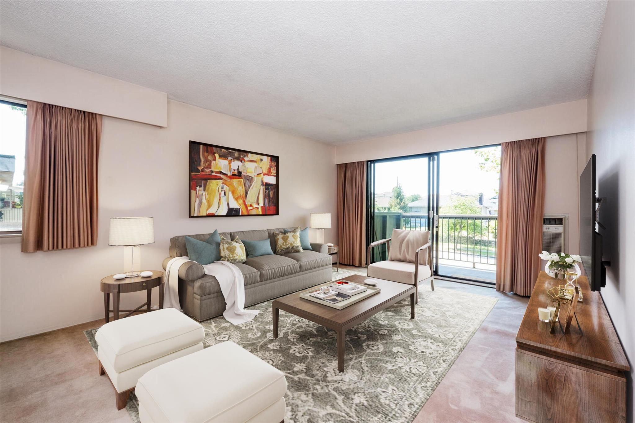 """Photo 3: Photos: 209 2600 E 49TH Avenue in Vancouver: Killarney VE Condo for sale in """"Southwinds"""" (Vancouver East)  : MLS®# R2600173"""