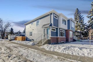Photo 1: 7655 35 Avenue NW in Calgary: Bowness Semi Detached for sale : MLS®# A1056276