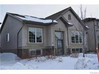 Photo 1: 36 Beachham Crescent in WINNIPEG: Fort Garry / Whyte Ridge / St Norbert Residential for sale (South Winnipeg)  : MLS®# 1604529