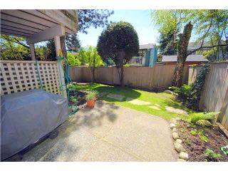 """Photo 20: 6 1195 FALCON Drive in Coquitlam: Eagle Ridge CQ Townhouse for sale in """"THE COURTYARDS"""" : MLS®# V1108276"""