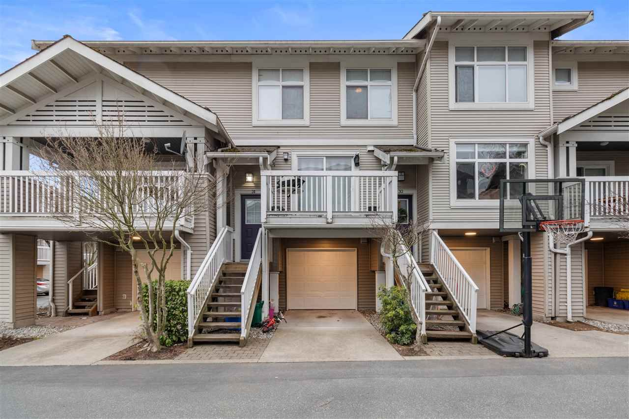 """Main Photo: 31 7179 201 Street in Langley: Willoughby Heights Townhouse for sale in """"The Denim"""" : MLS®# R2557891"""