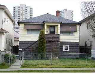 Photo 1: 3349 ARCHIMEDES Street in Vancouver: Collingwood VE House for sale (Vancouver East)  : MLS®# V698961