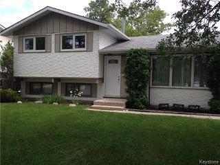 Photo 1: 361 Cathcart Street in WINNIPEG: Charleswood Residential for sale (South Winnipeg)  : MLS®# 1522681