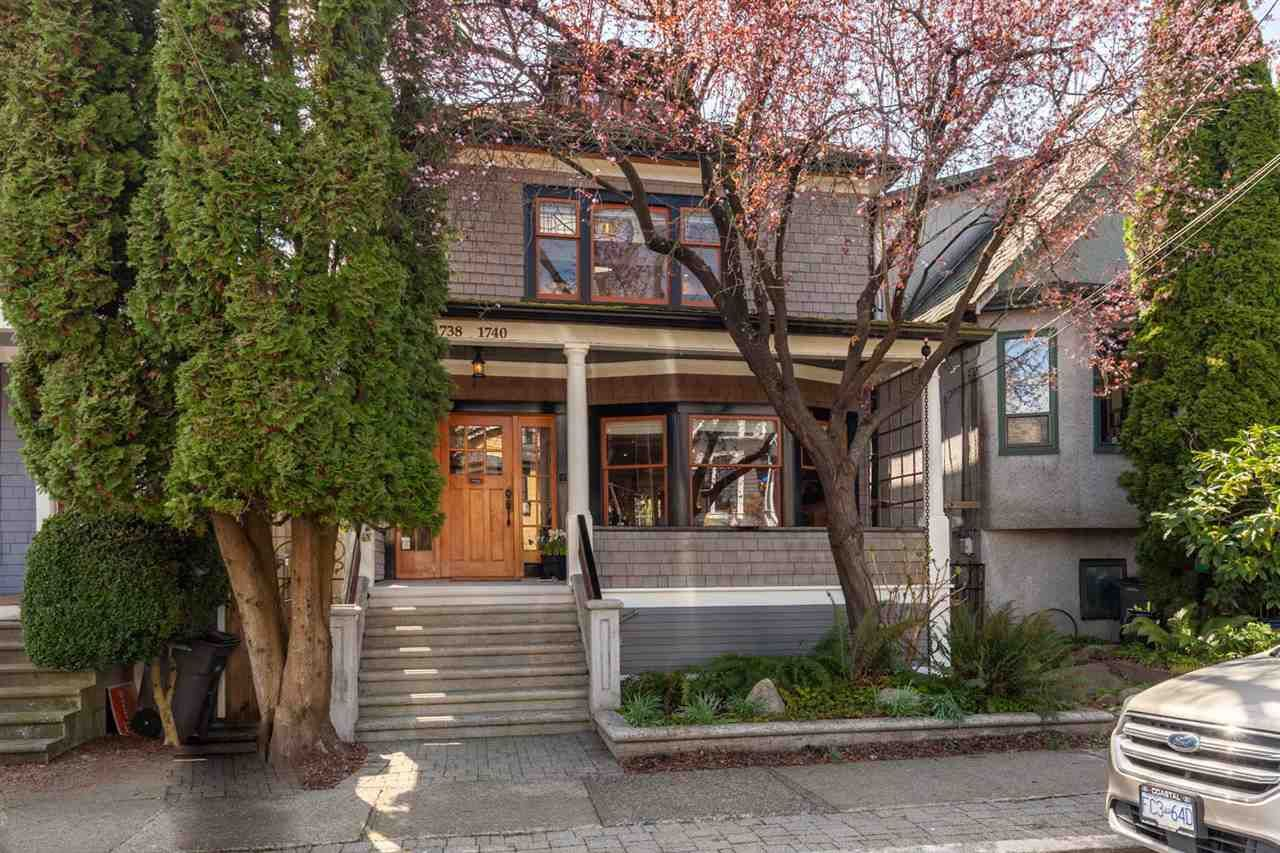 """Main Photo: 1738 MCSPADDEN Avenue in Vancouver: Grandview Woodland House for sale in """"Commercial Drive"""" (Vancouver East)  : MLS®# R2559872"""