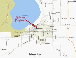 Photo 2: 941 Northeast 8 Avenue in Salmon Arm: DOWNTOWN Vacant Land for sale (NE Salmon Arm)  : MLS®# 10217178
