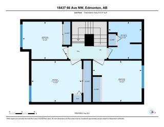 Photo 29: 18437 66 Avenue in Edmonton: Zone 20 Townhouse for sale : MLS®# E4257310