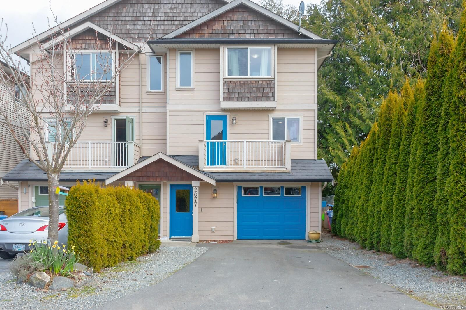 Main Photo: 2077 N SOLENT Rd in : Sk Sooke Vill Core Half Duplex for sale (Sooke)  : MLS®# 870374
