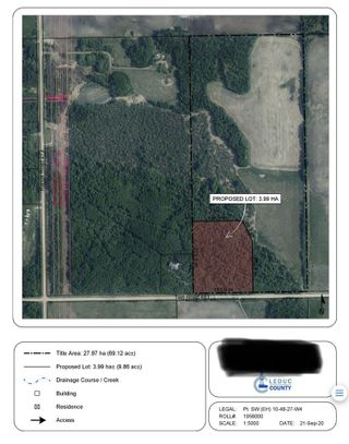Photo 4: rr 273 twp 481: Rural Leduc County Rural Land/Vacant Lot for sale : MLS®# E4236709