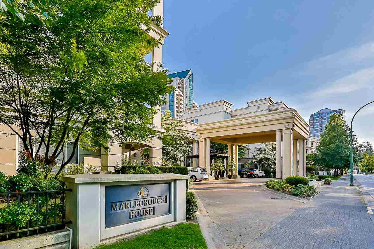 """Main Photo: 215 3098 GUILDFORD Way in Coquitlam: North Coquitlam Condo for sale in """"Marlborough House"""" : MLS®# R2555824"""
