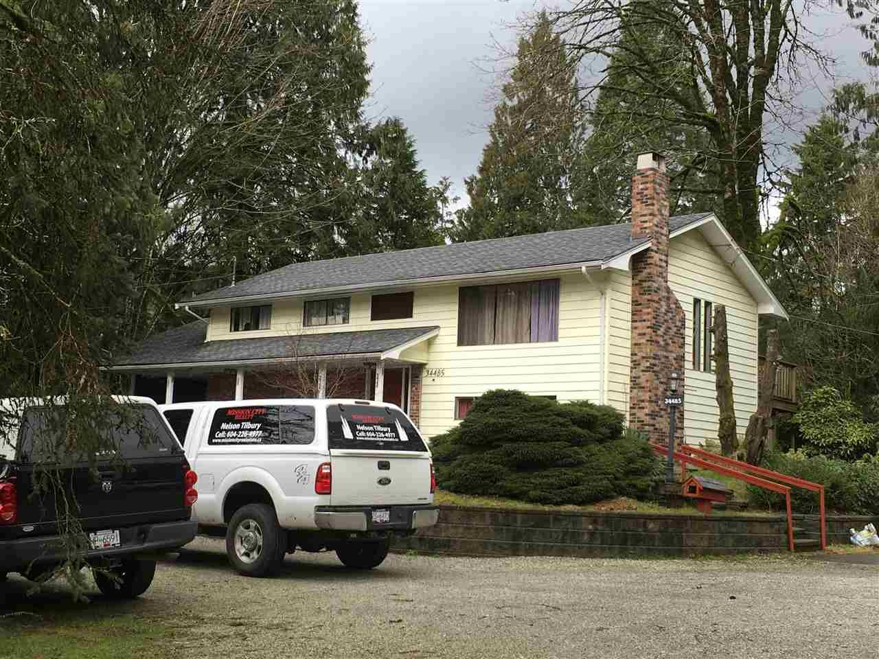 Main Photo: 34485 KIRKPATRICK AVENUE in Mission: Mission BC House for sale : MLS®# R2033667