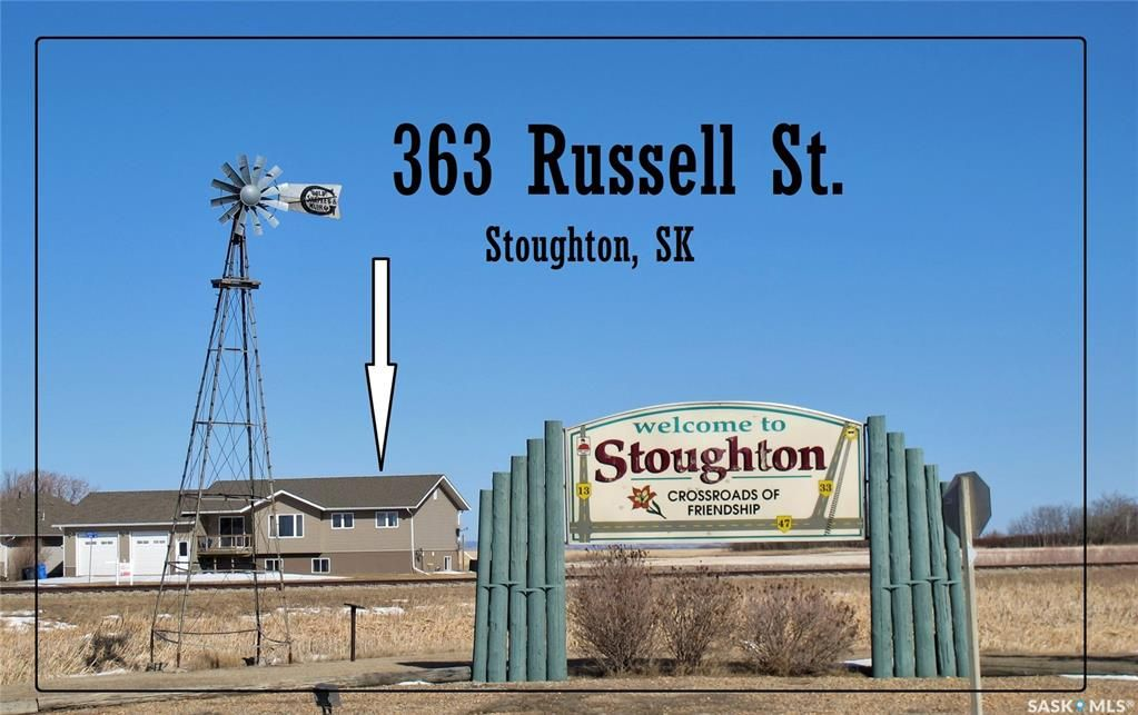 Main Photo: 363 Russell Street in Stoughton: Residential for sale : MLS®# SK848677