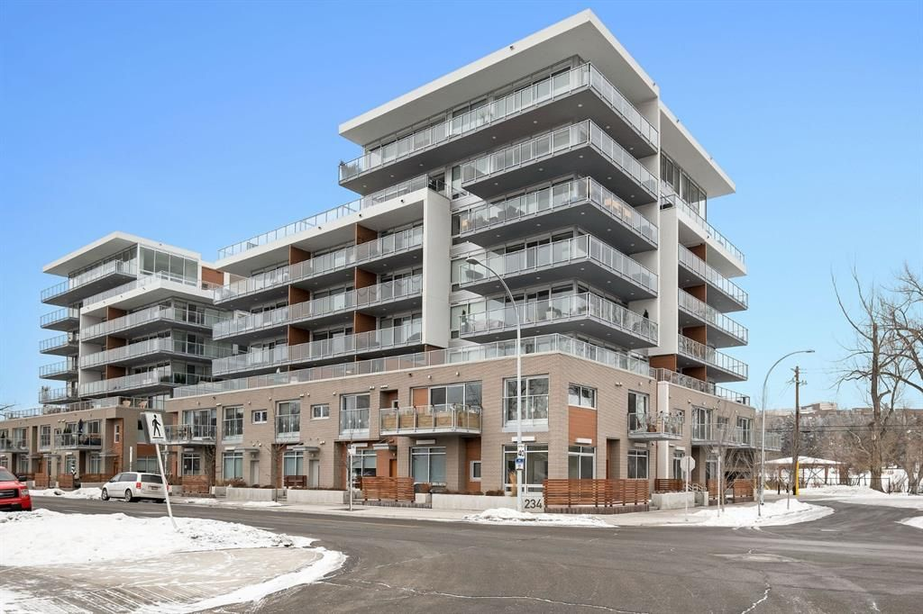 Main Photo: 1201 1234 5 Avenue NW in Calgary: West Hillhurst Apartment for sale : MLS®# A1063912