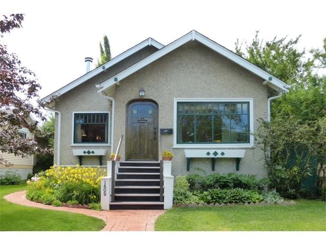 Main Photo: 1409 6 Street NW in Calgary: Rosedale House for sale : MLS®# C4008743