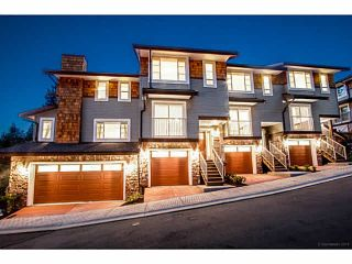 """Photo 1: 58 23651 132ND Avenue in Maple Ridge: Silver Valley Townhouse for sale in """"MYRON'S MUSE AT SILVER VALLEY"""" : MLS®# V1131894"""