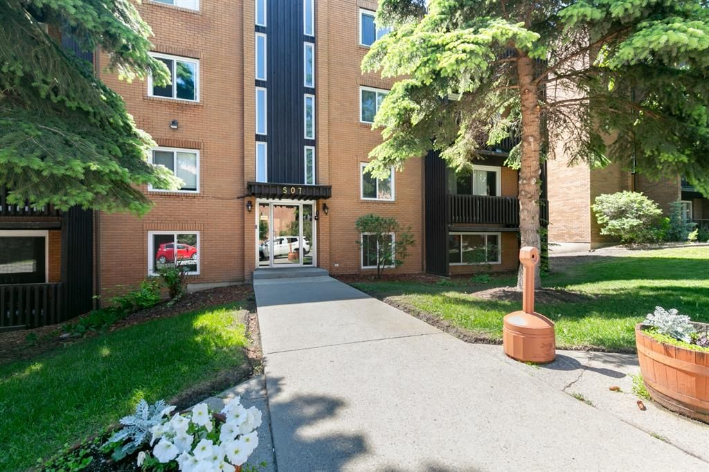 Main Photo: 402 507 57 Avenue SW in Calgary: Windsor Park Apartment for sale : MLS®# A1150113