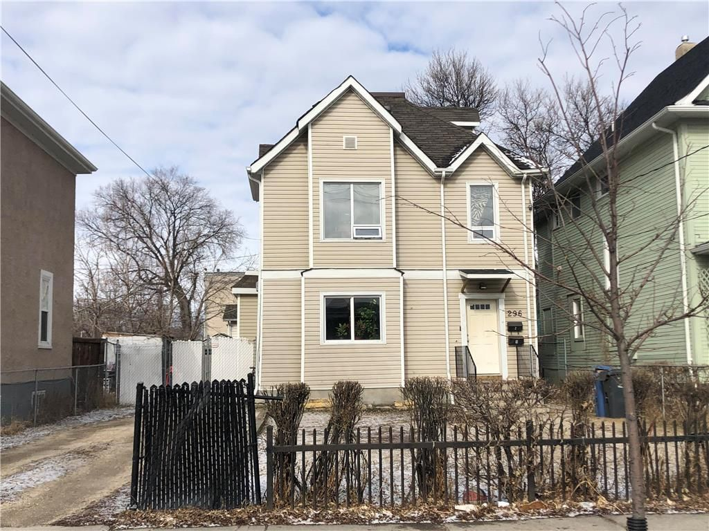 Main Photo: 296 Charles Street in Winnipeg: North End Residential for sale (4A)  : MLS®# 202106787