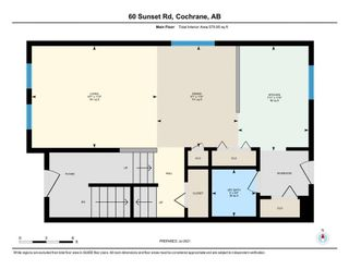 Photo 35: 60 Sunset Road: Cochrane Row/Townhouse for sale : MLS®# A1128537