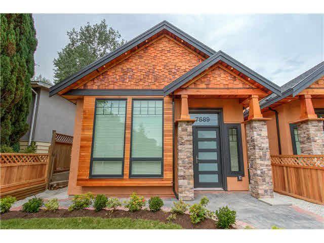 Main Photo: 7689 ROSEWOOD STREET in : Highgate 1/2 Duplex for sale : MLS®# V1134975
