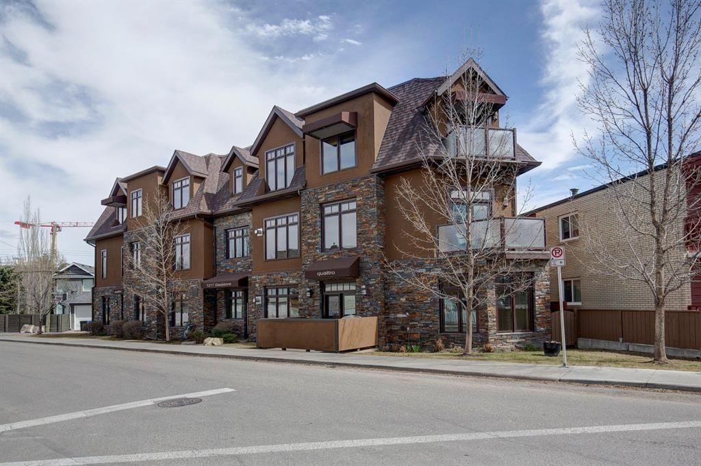 Main Photo: 101 1211 GLADSTONE Road NW in Calgary: Hillhurst Apartment for sale : MLS®# A1100282