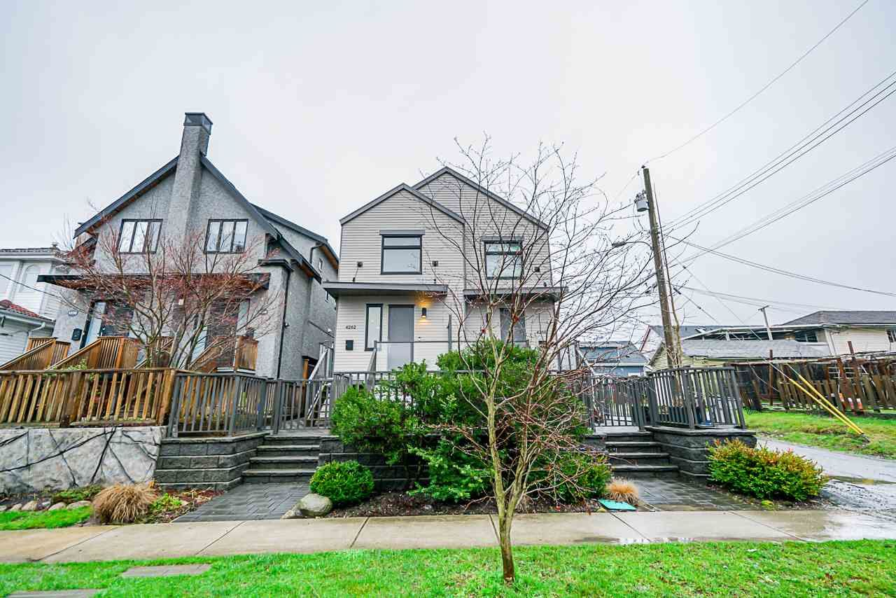Main Photo: 4262 INVERNESS STREET in Vancouver: Knight 1/2 Duplex for sale (Vancouver East)  : MLS®# R2452908