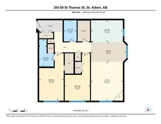 Photo 30: 303 50 St.Thomas Street: St. Albert Condo for sale : MLS®# E4242500