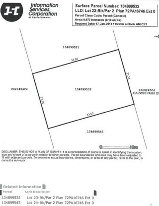Photo 9: 154 Carwin Park Drive in Emma Lake: Lot/Land for sale : MLS®# SK846951