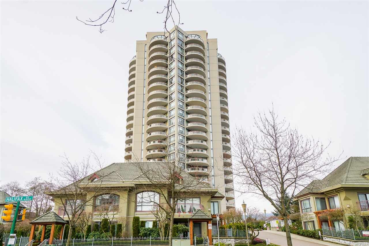 "Main Photo: 1705 4425 HALIFAX Street in Burnaby: Brentwood Park Condo for sale in ""The Polaris"" (Burnaby North)  : MLS®# R2554179"