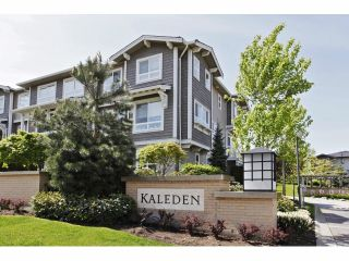 """Photo 1: 133 2729 158TH Street in Surrey: Grandview Surrey Townhouse for sale in """"KALEDEN"""" (South Surrey White Rock)  : MLS®# F1411396"""