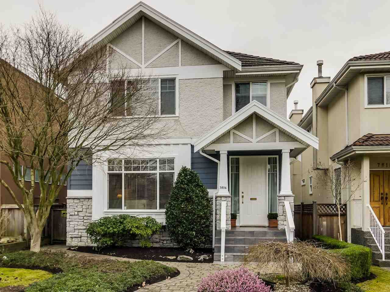 """Main Photo: 7806 HUDSON Street in Vancouver: Marpole House for sale in """"MARPOLE/SOUTH GRANVILLE"""" (Vancouver West)  : MLS®# R2028896"""