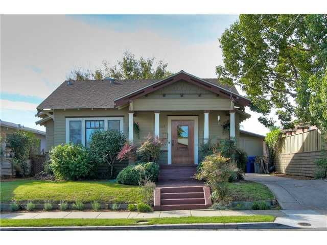 Main Photo: NORMAL HEIGHTS House for sale : 2 bedrooms : 3615 Alexia in San Diego