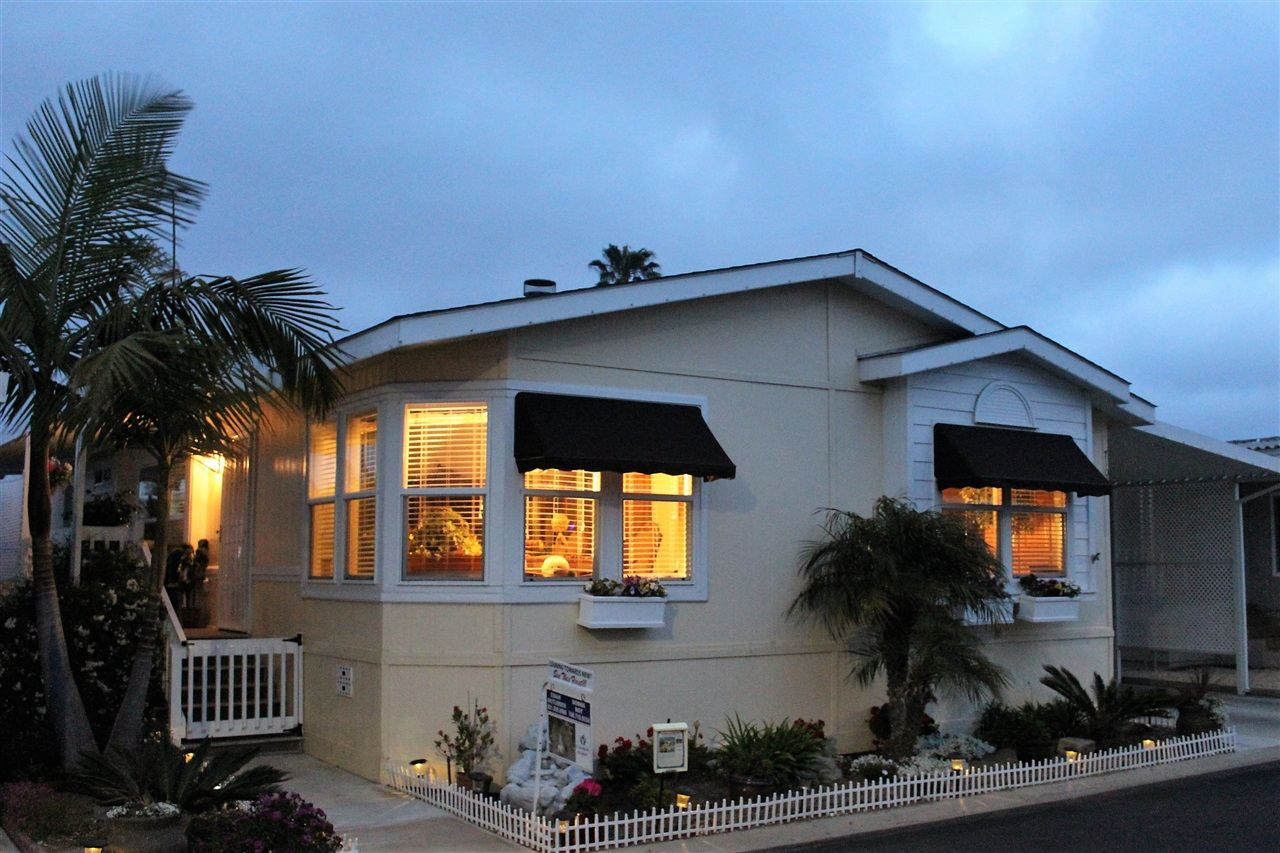 Main Photo: CARLSBAD WEST Manufactured Home for sale : 3 bedrooms : 7108 San Luis #130 in Carlsbad
