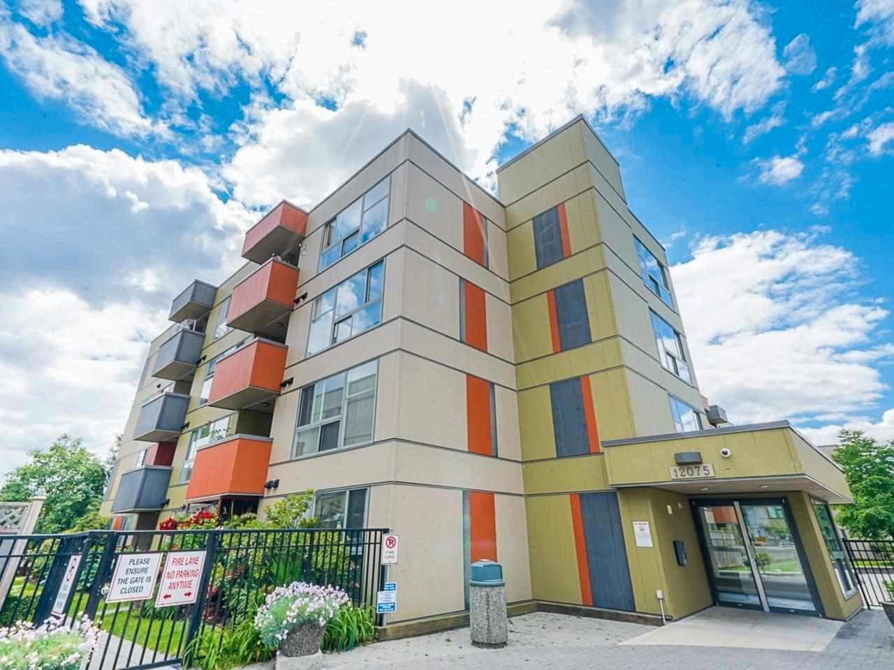"Main Photo: 104 12075 228 Street in Maple Ridge: East Central Condo for sale in ""RIO"" : MLS®# R2591423"
