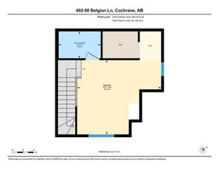 Photo 28: 402 50 Belgian Lane: Cochrane Row/Townhouse for sale : MLS®# A1153936