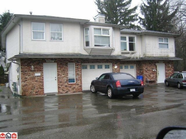 Main Photo: 10657 144TH Street in Surrey: Whalley Duplex for sale (North Surrey)  : MLS®# F1102931