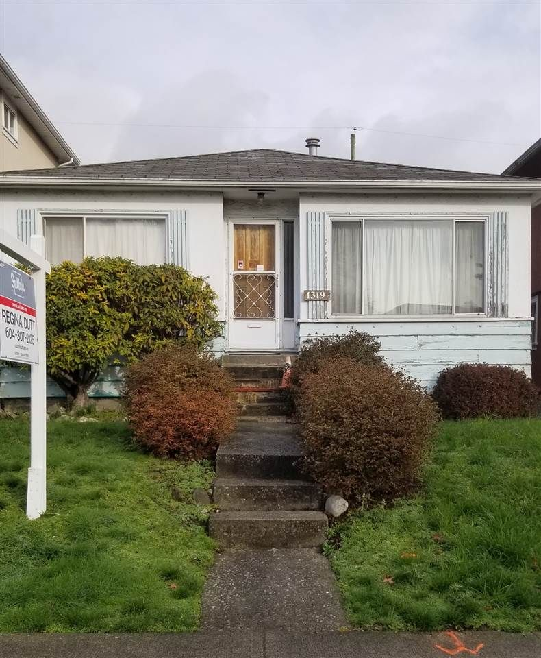 Main Photo: 1319 E 62ND Avenue in Vancouver: South Vancouver House for sale (Vancouver East)  : MLS®# R2436828