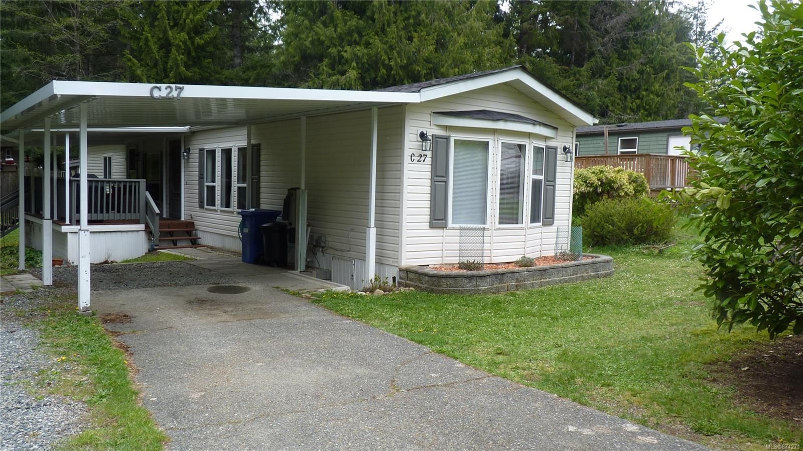 Main Photo: C27 920 Whittaker Rd in : ML Malahat Proper Manufactured Home for sale (Malahat & Area)  : MLS®# 874271