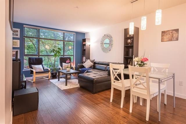Main Photo: 201 3583 Crowlwy Street in Vancouver: Condo for sale (Vancouver East)  : MLS®# R2581170